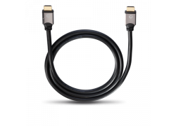Oehlbach Black Magic HDMI Cable w. Ethernet 1,2m