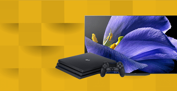 Gratis PS4 PRO of tot €500 retour bij Sony TV's