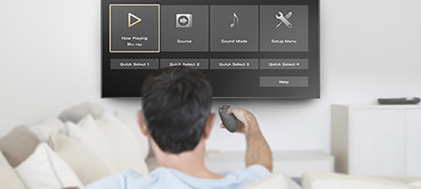 Marantz NR1200 - Smart Menu TV