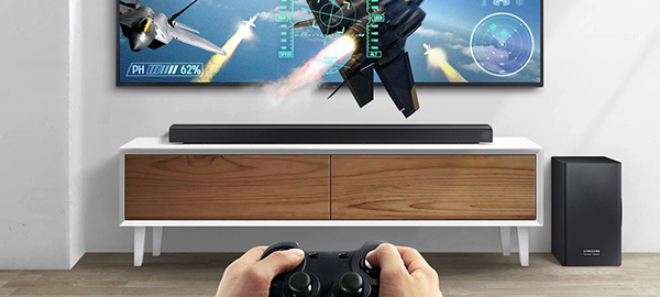 Samsung HW-Q80R - Game mode
