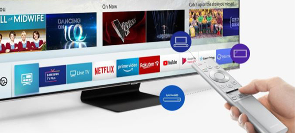 Samsung RU7100 - Smart TV